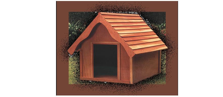 Casetas para perros decoraci n con madera Casas para perros de madera