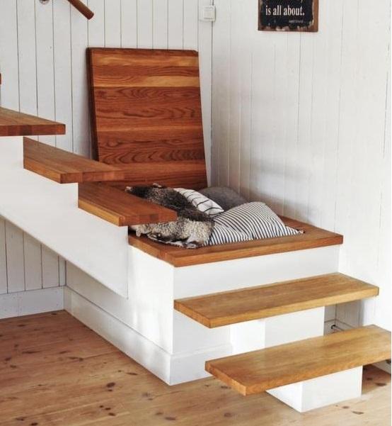 Escaleras de dise o decoraci n con madera - Escaleras de madera adorno ...