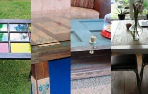 Convertir puertas en mesas