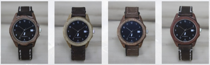 Reloj Ttanti, reloj de madera