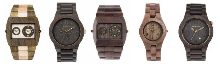 Reloj we-wood, reloj de madera