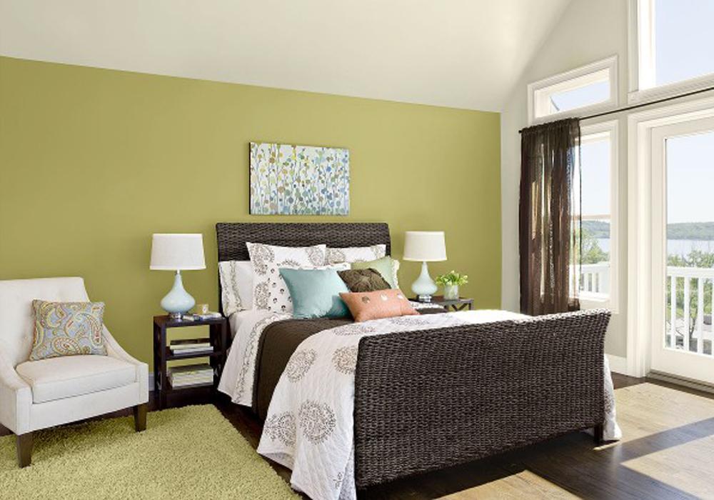 Colores para pintar un salon 01 decoraci n con madera - Colores para salon ...
