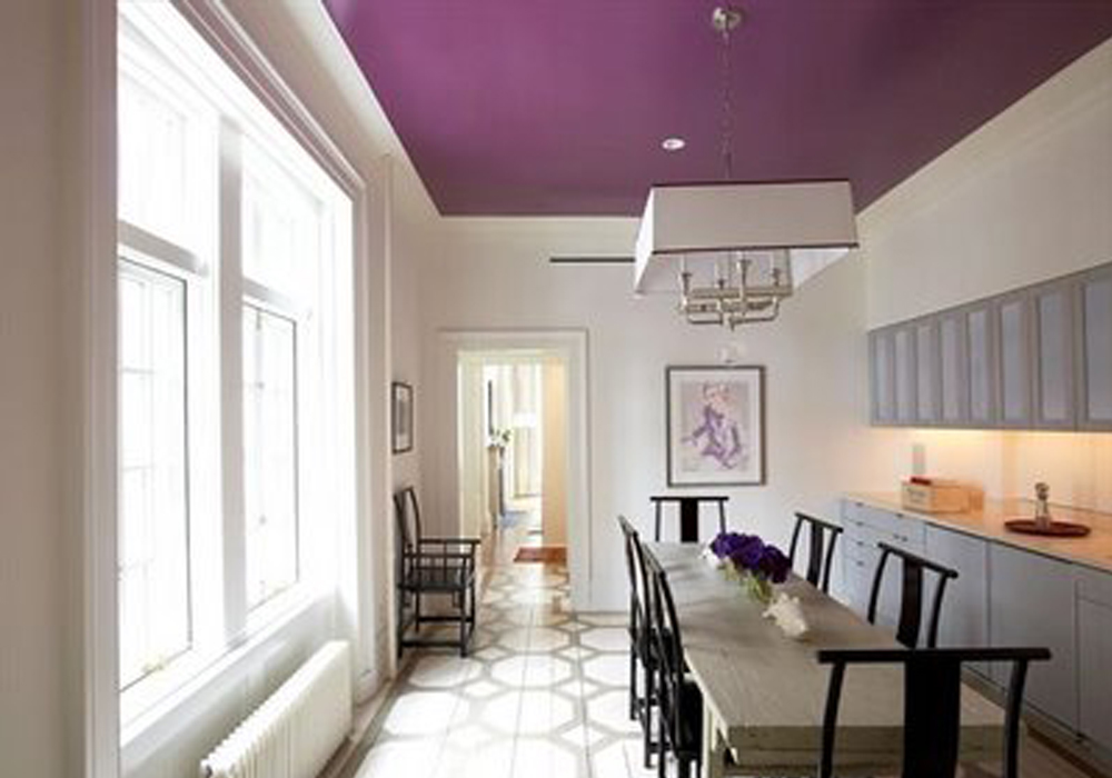 Pintar un sal n de manera diferente decoraci n con madera - Ideas pintar salon ...