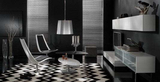 decoracion en negro