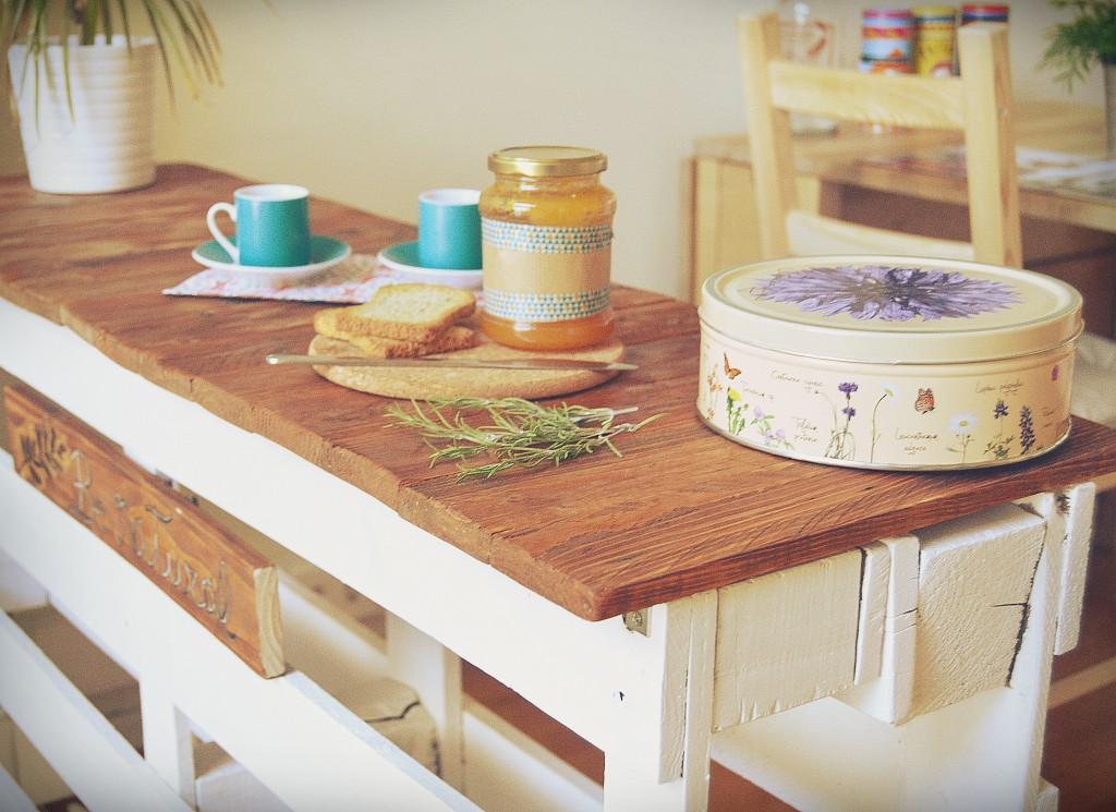 Palet decoraci n con madera - Cocinas con tarimas ...