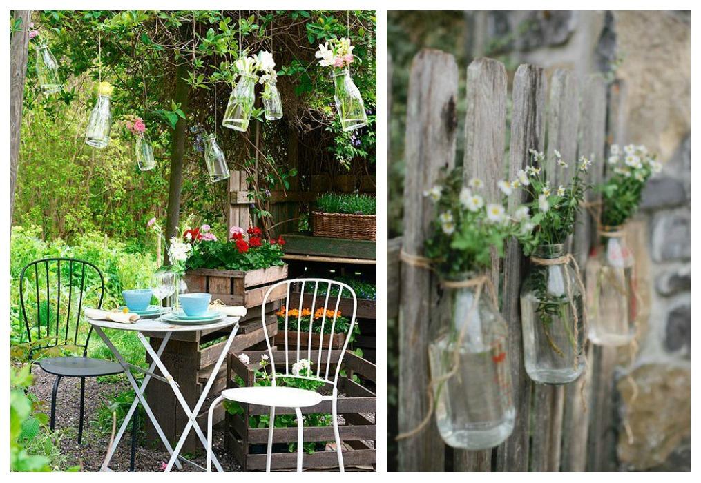 Decora tu jard n con reciclaje de madera decoraci n con for Decora tu jardin