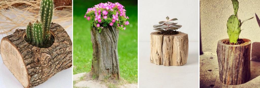 Decora tu jardín con reciclaje de madera