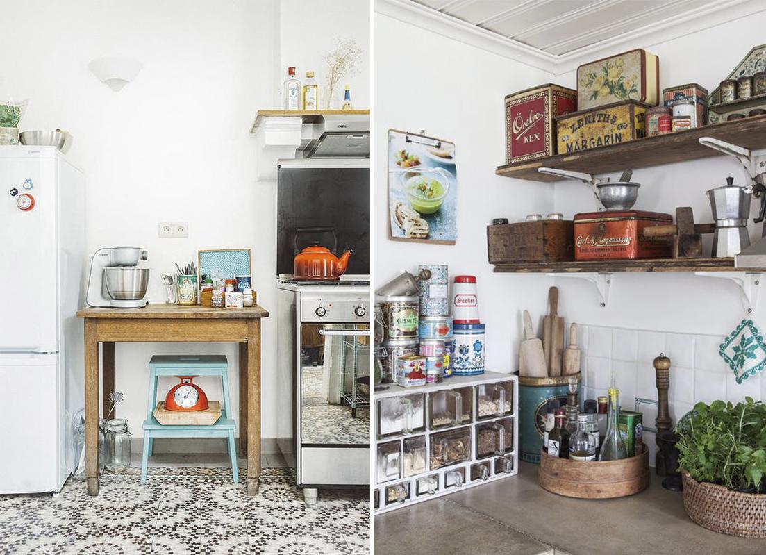 Decora tu cocina al estilo vintage decoraci n con madera - Decorar cocinas antiguas ...