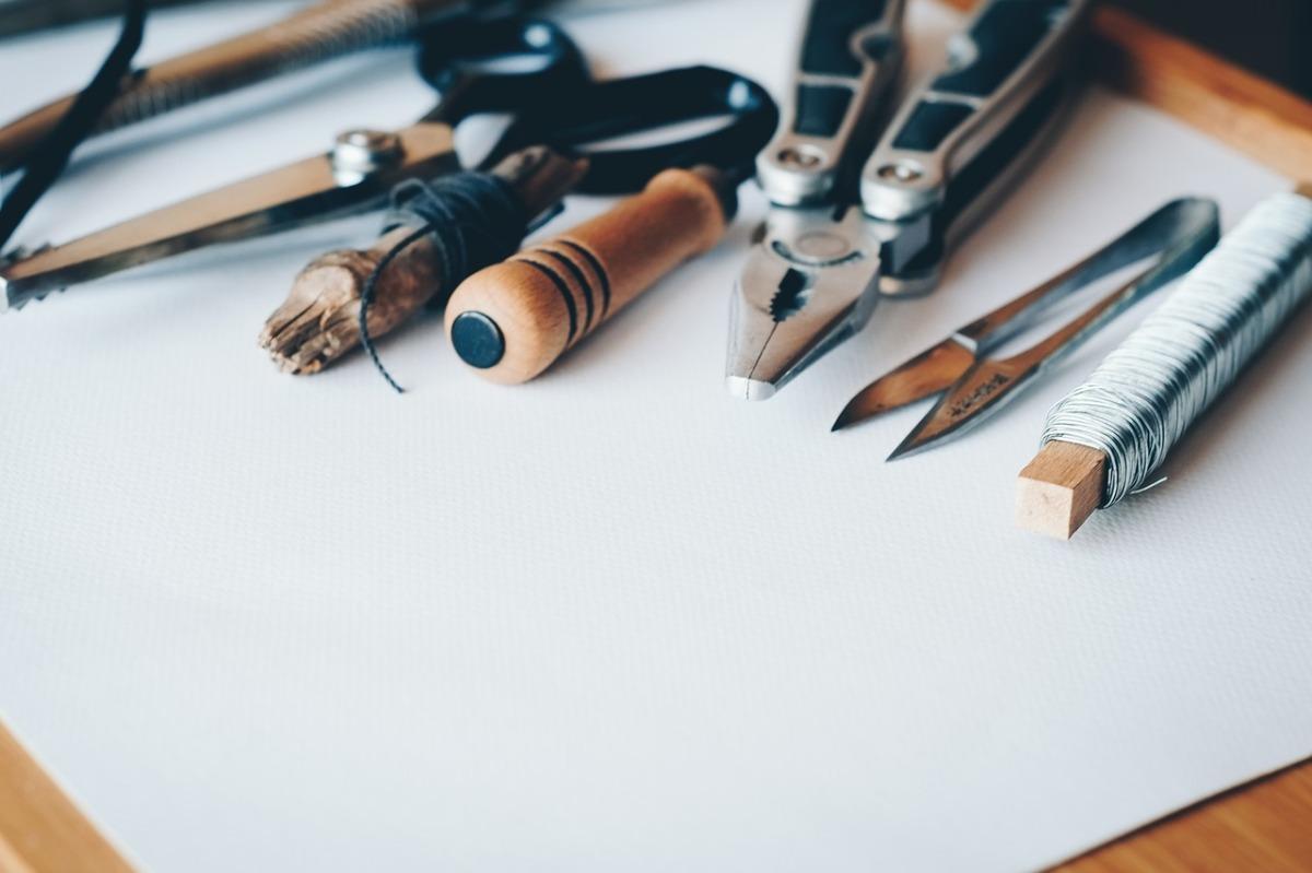 herramientas para cuadros